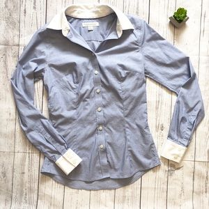 Banana Republic Non-Ironed Tailored Button Down